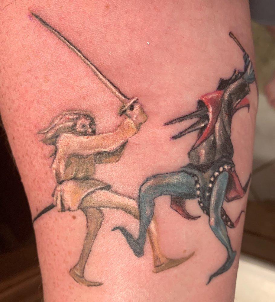 Flesh Hound Tattoo Studio: 716 Broadway St, Cape Girardeau, MO