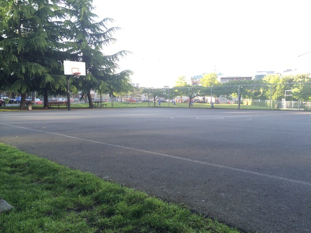 Denny Playfield Basketball Court