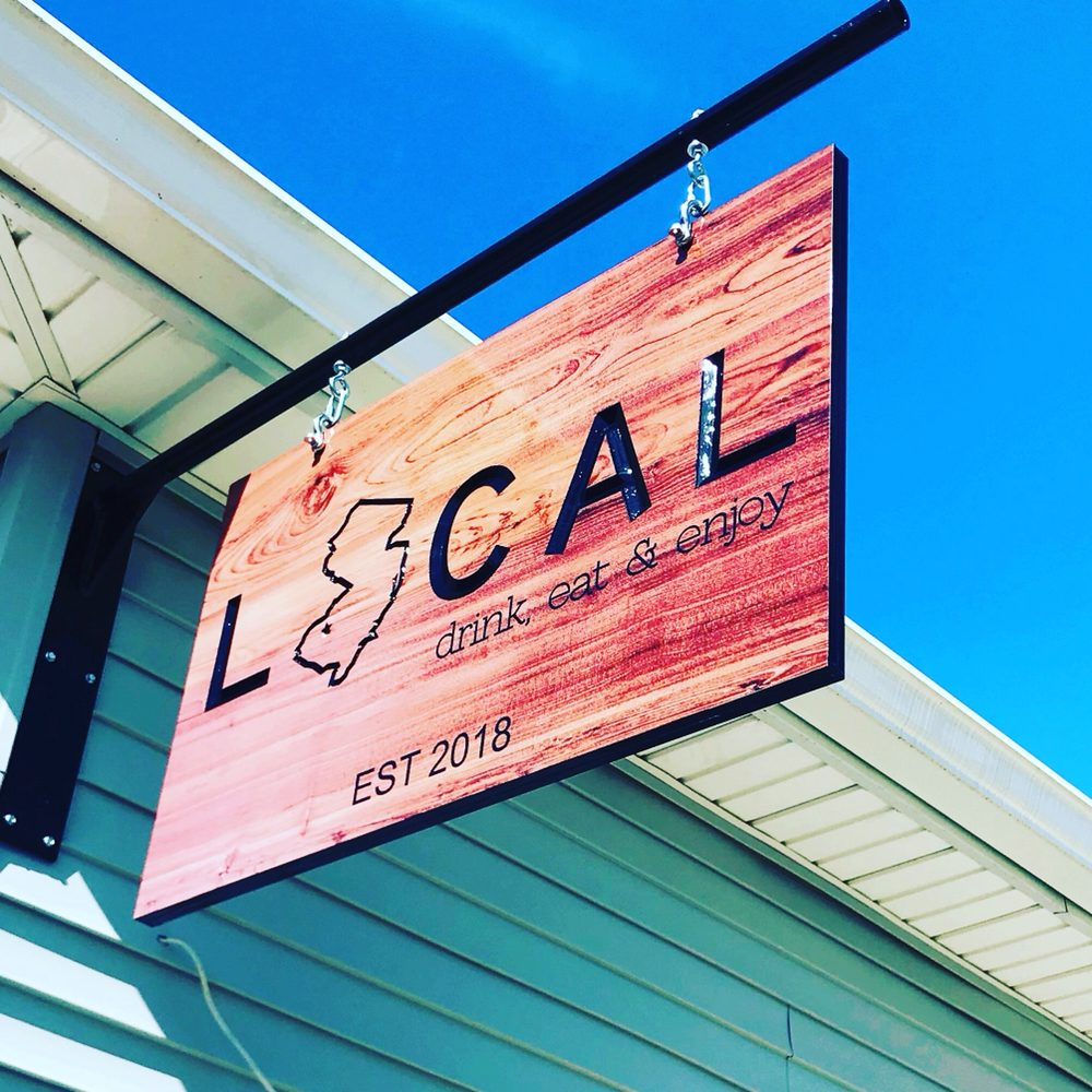 Local Bar And Kitchen: Our Sign!