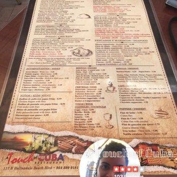 A Touch Of Cuba Restaurant Hallandale Beach Fl