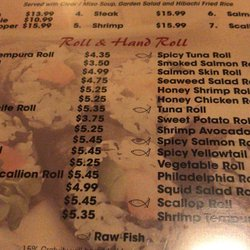 Photo Of Kyoto Anese Restaurant Deridder La United States List Rolls