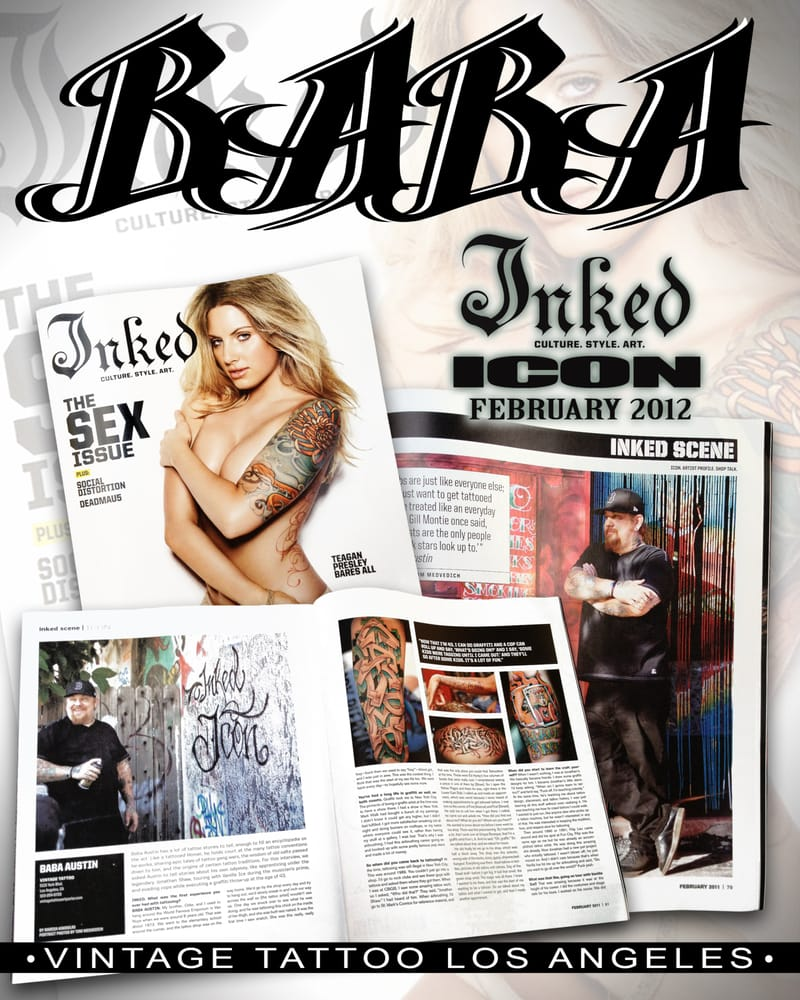 Vintage tattoo art parlor 63 photos 53 reviews for Tattoo convention los angeles