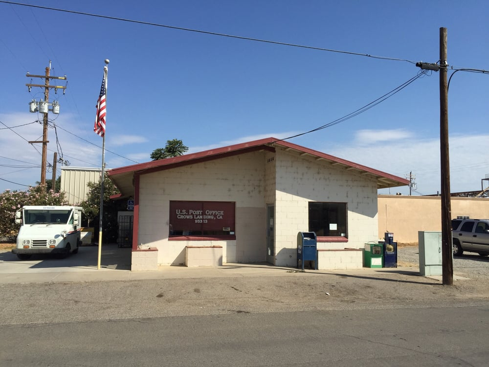 US Post Office: 13 W 5Th St, Crows Landing, CA
