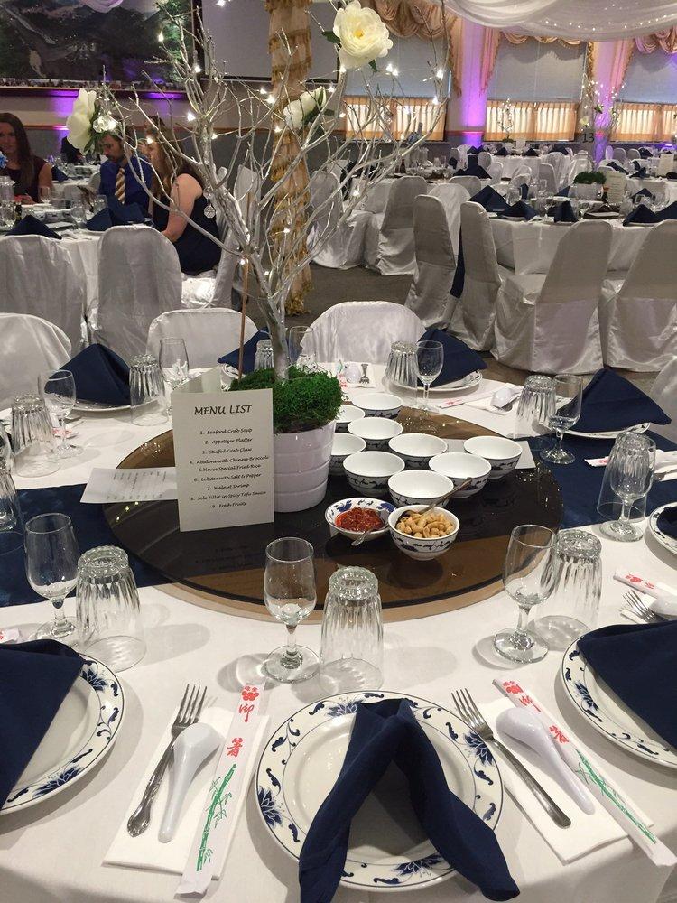 Fancy Setup For A Wedding Reception Yelp