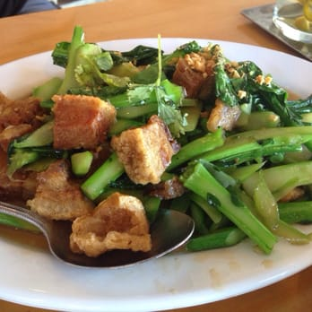 Photo Of Thai Patio   Los Angeles, CA, United States. Crispy Pork With