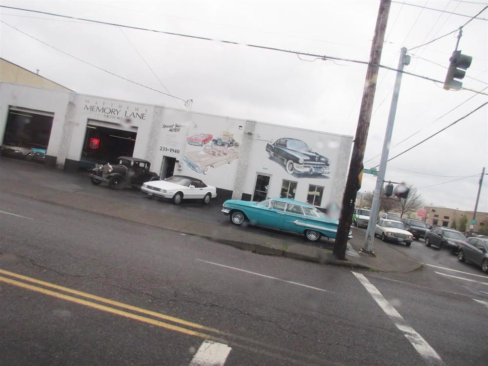 Mathews Memory Lane Motors