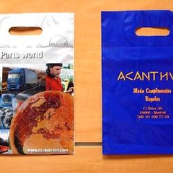 a713032d9 Foto de Plásticos Sesmero - Madrid, España. Bolsas de plastico  publicitarias personalizadas