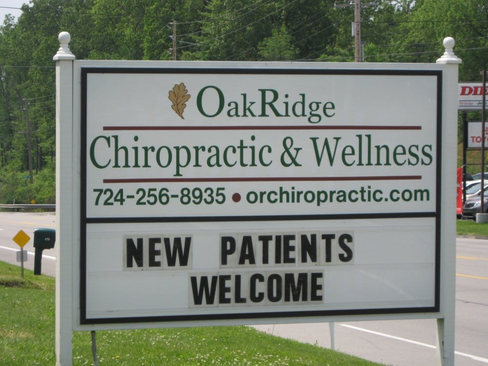 Oak Ridge Chiropractic and Wellness: 101 Oak Ridge Dri, Butler, PA