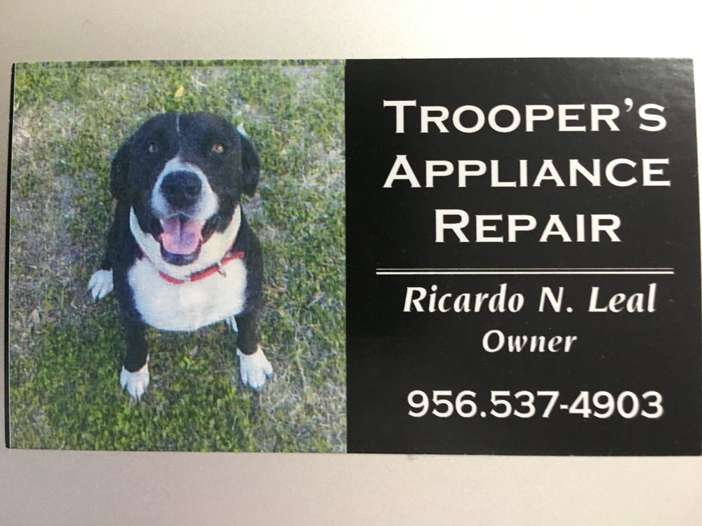 TROOPER'S APPLIANCE REPAIR: Mission, TX
