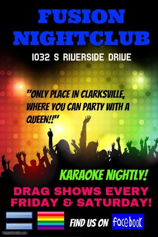 Fusion Nightclub / Bar & Grill: 1032 South Riverside Dr, Clarksville, TN