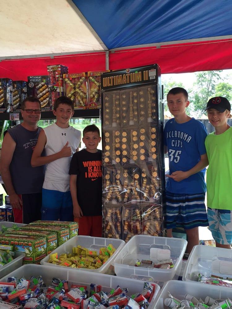 Adam's Fireworks: Tent 2 Mi E On Hwy 10, Sisseton, SD