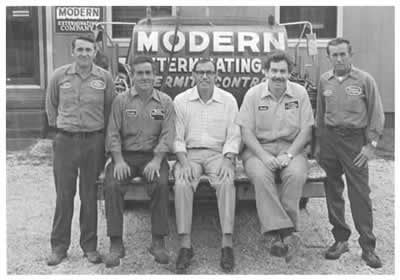 Modern Exterminating Company: 627 College St, Jacksonville, NC