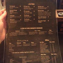 Photos for bosscat kitchen libations menu yelp for Bosscat kitchen
