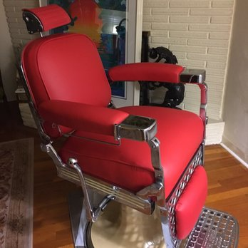 Photo Of Munoz Upholstery   Fresno, CA, United States. Barber Chair.