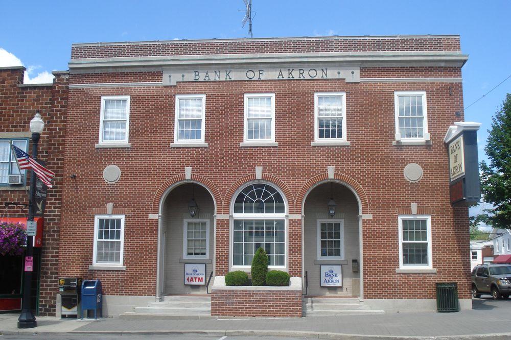BANK OF AKRON: 46 Main St, Akron, NY