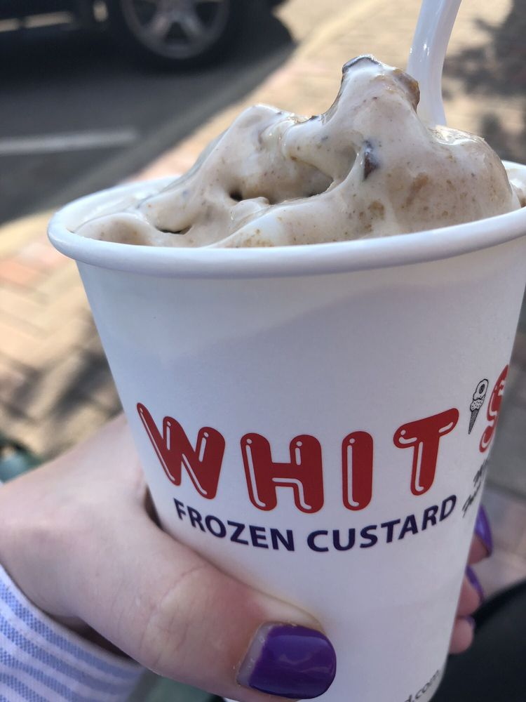 Food from Whit's Frozen Custard