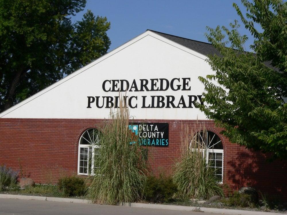Delta County Libraries - Cedaredge: 180 SW 6th Ave, Cedaredge, CO