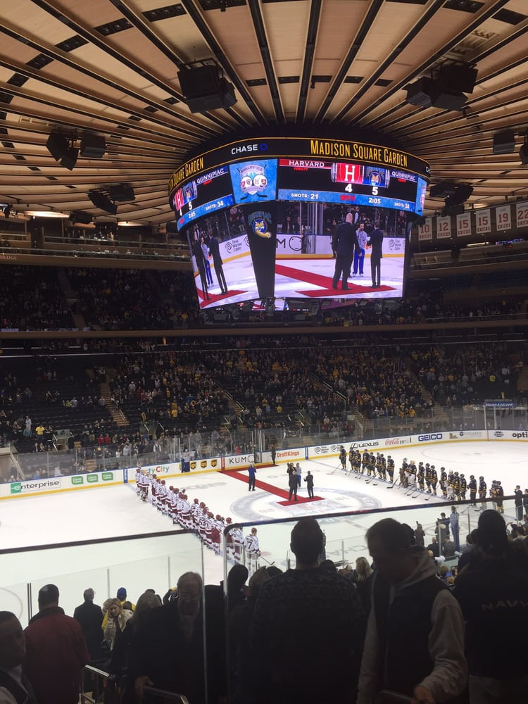 Harvard vs quinippac hockey 2016 Yelp