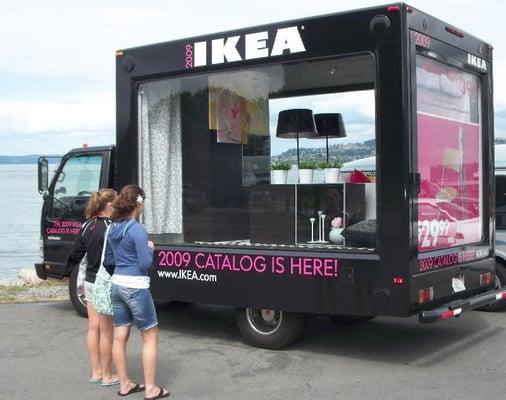 Eye4u mobile billboard advertising 30010 s macarthur for Ikea renton hours