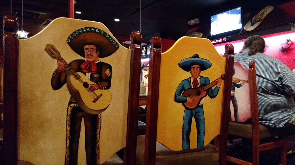 Photo Of Torero S Mexican Restaurant Cary Nc United States Hand Painted Chairs