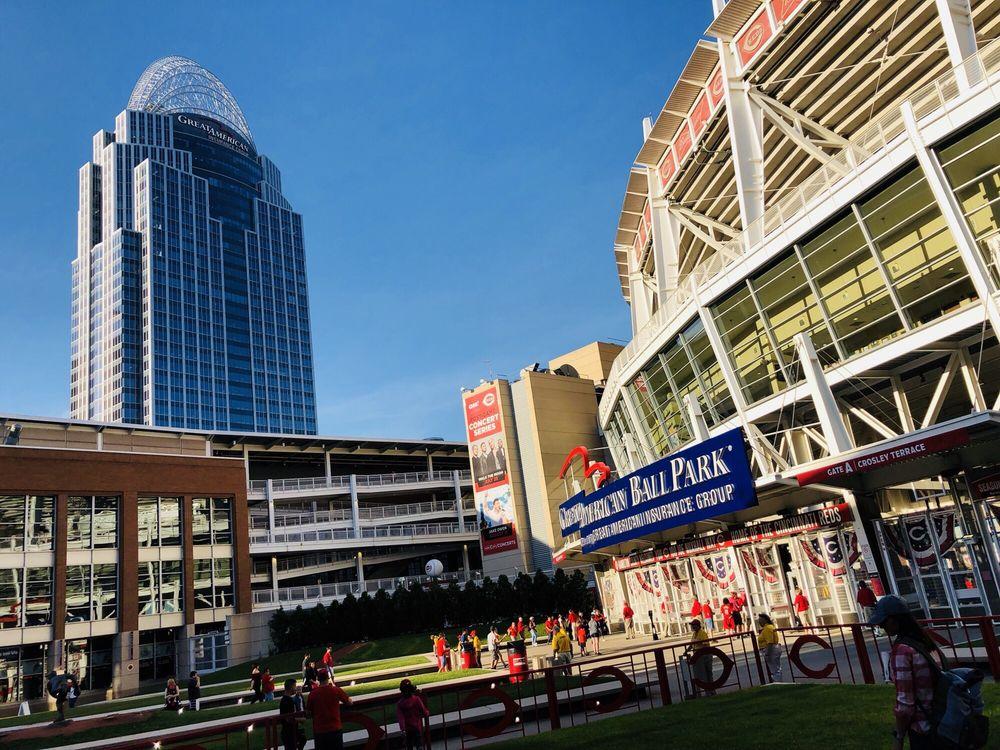 Great American Ball Park: 100 Joe Nuxhall Way, Cincinnati, OH