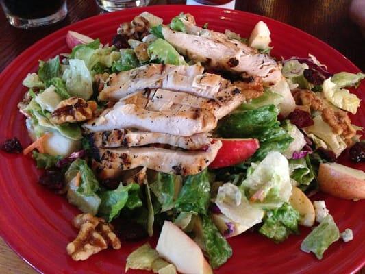 Red Lobster Restaurant Copycat Recipes Apple Walnut Chicken Salad
