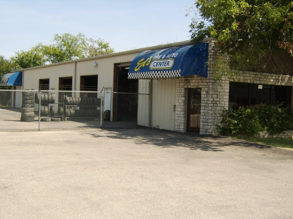 Ed's Tire & Auto Center: 901 Industrial Blvd, Marble Falls, TX