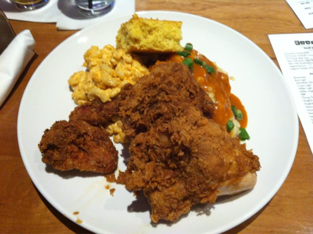 Photo Of Chow Restaurant Bar Norfolk Va United States Fried Chicken
