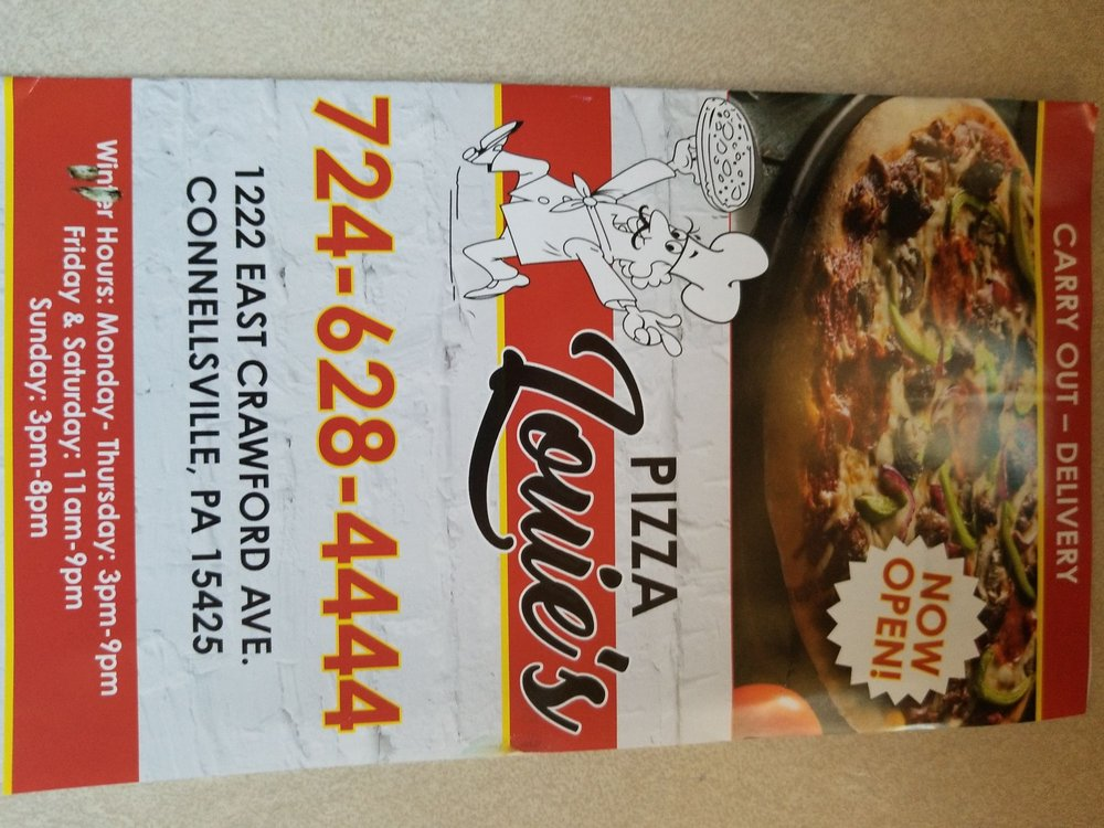 Pizza Louies: 1222 E Crawford Ave, Connellsville, PA