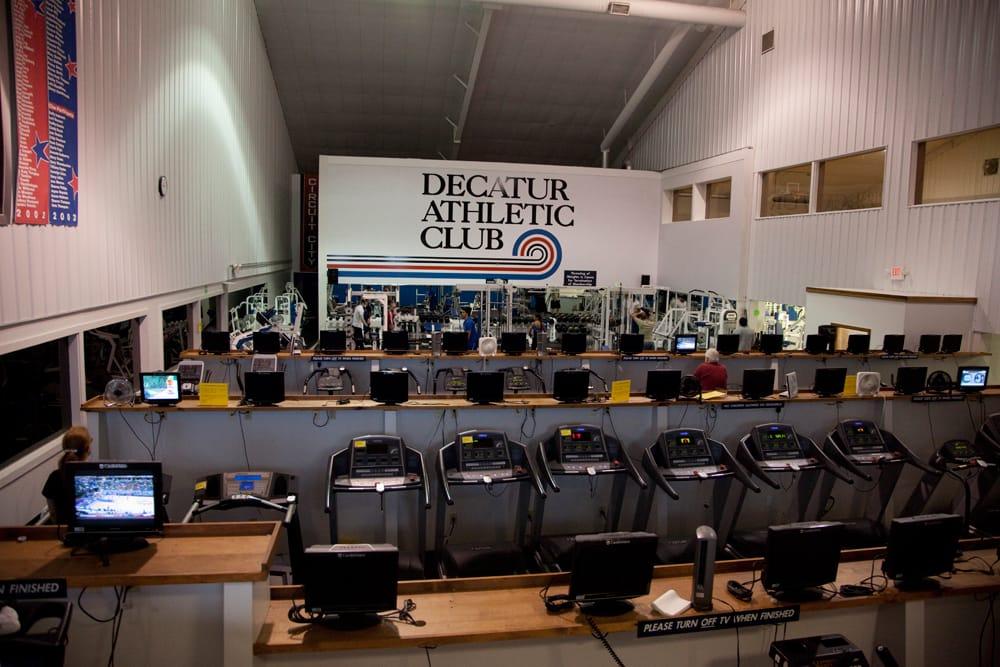 Decatur Athletic Club: 1010 W South Side Dr, Decatur, IL