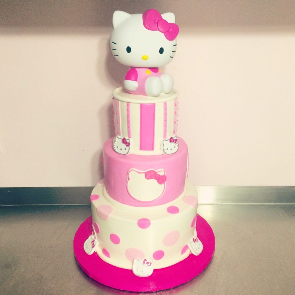Mini 3 Tier Hello Kitty Cake Yelp