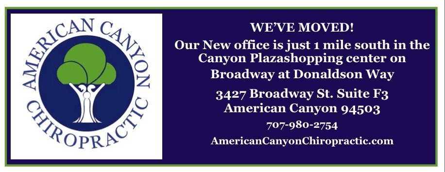 American Canyon Chiropractic: 3427 Broadway St, American Canyon, CA