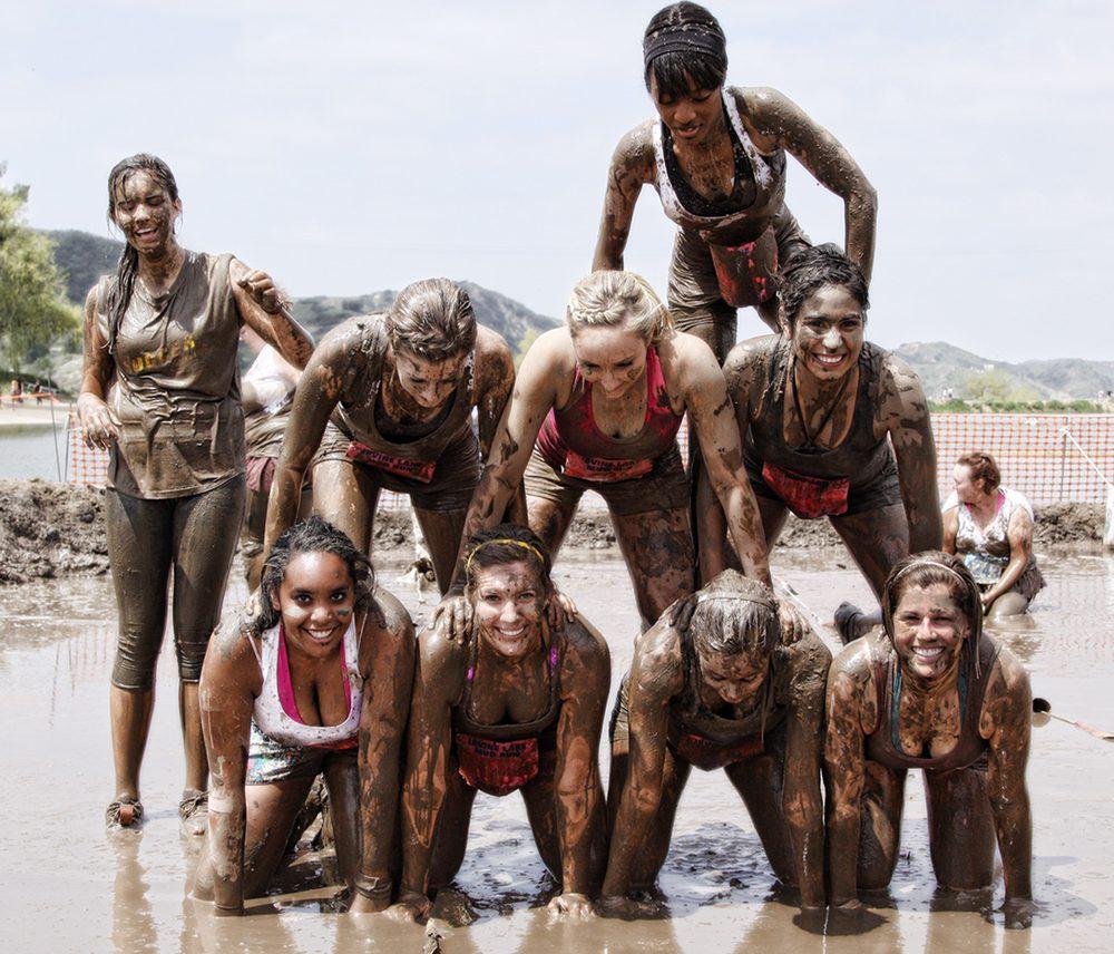 Irvine Lake Mud Run