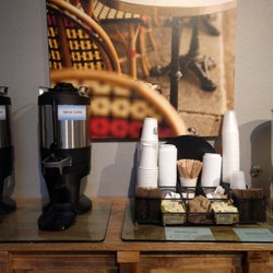Photo Of Living Spaces   Irvine, CA, United States. Coffee Station