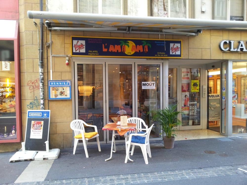 Restaurant l'Ami Ami - Neuchâtel