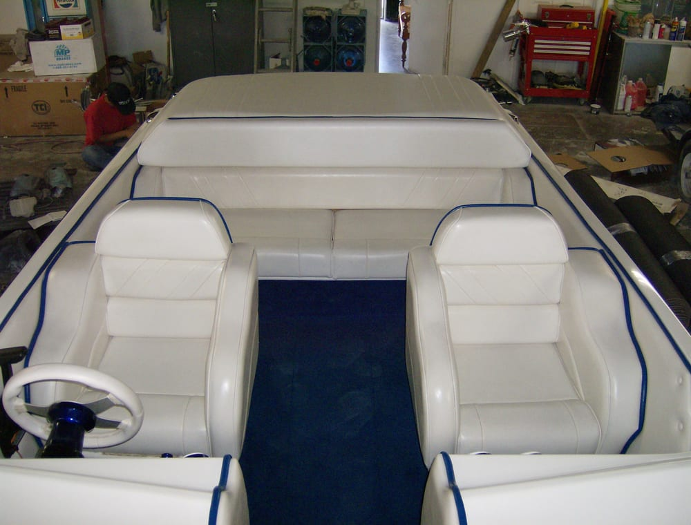 Custom Boat Interiors Carpet Kits Yelp