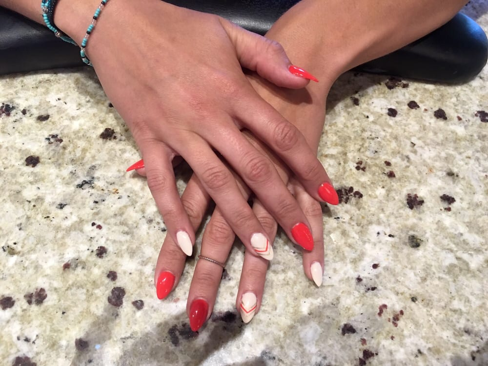 In love with my nails by my new favorite nail tech, Jenny! - Yelp
