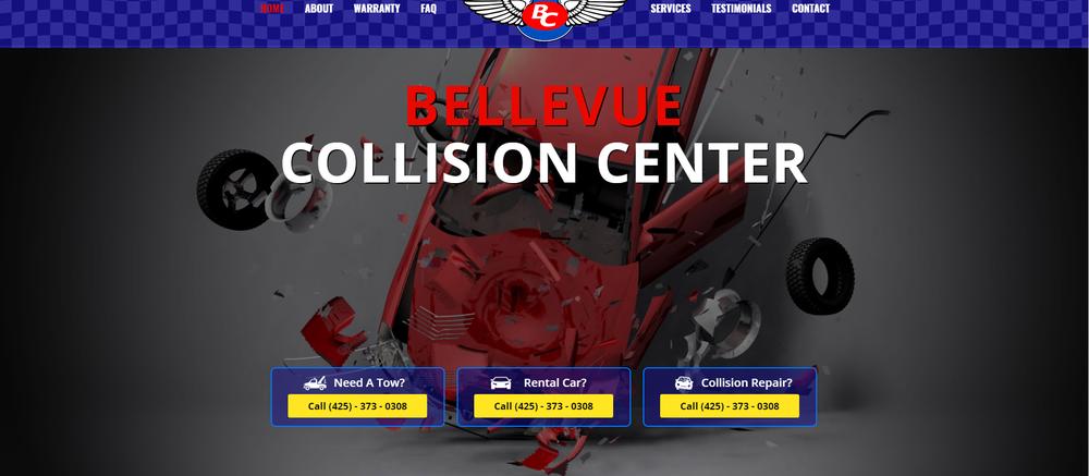 Bellevue Collision Center: 13434 SE 27th Pl, Bellevue, WA