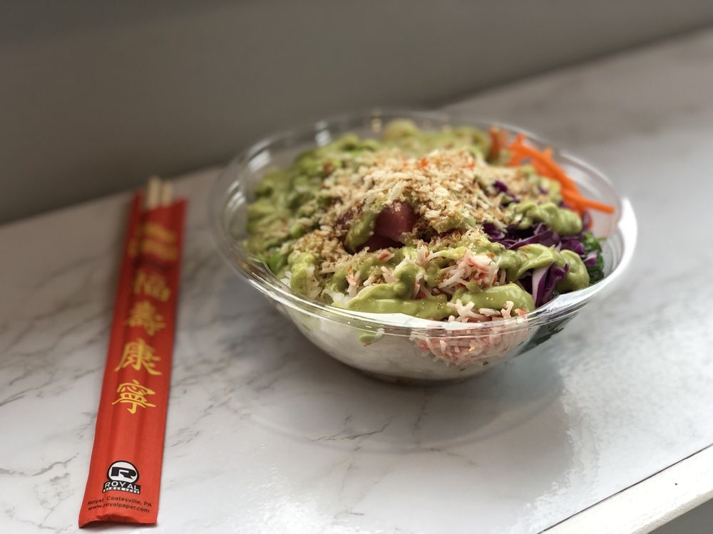 Food from Holy Poke