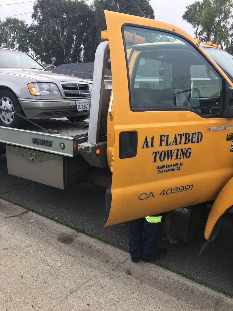 A1 Flatbed Towing: 16490 E14 St, San Leandro, CA