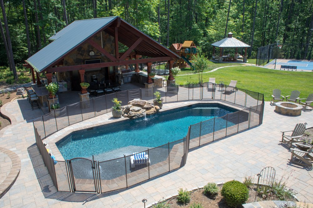 Life Saver Pool Safety Fence: Holly Springs, NC