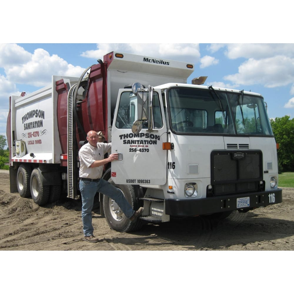 Thompson Sanitation: 108 Independence Ave N, Clarks Grove, MN