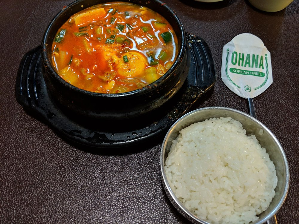 Ohana Korean Grill: 2501 S Texas Ave, College Station, TX