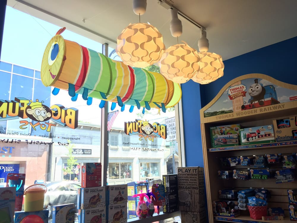 Big Fun Toys: 702 Arnold Ave, Point Pleasant Beach, NJ