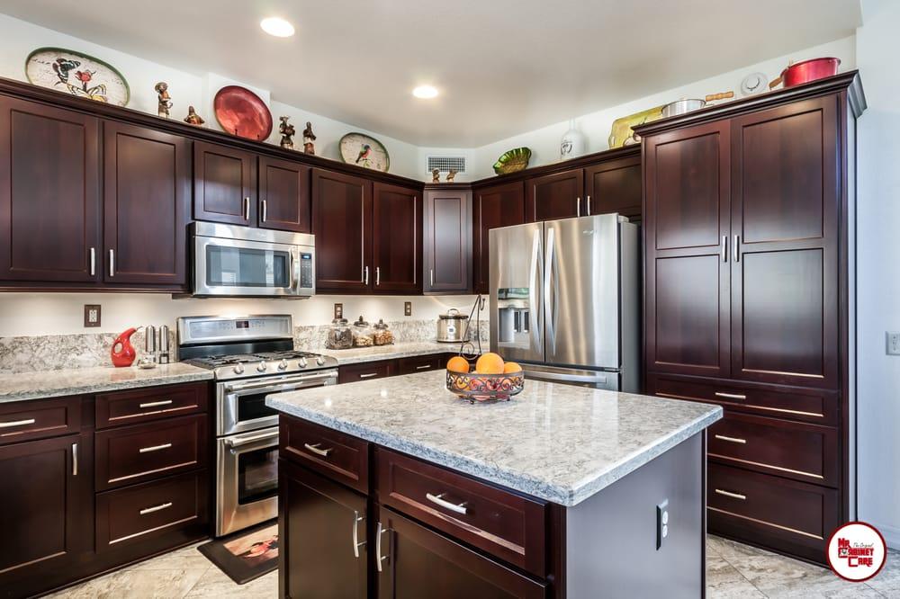 Kitchen Cabinets in Chino Hills, CA. www.mrcabinetcare.com ...