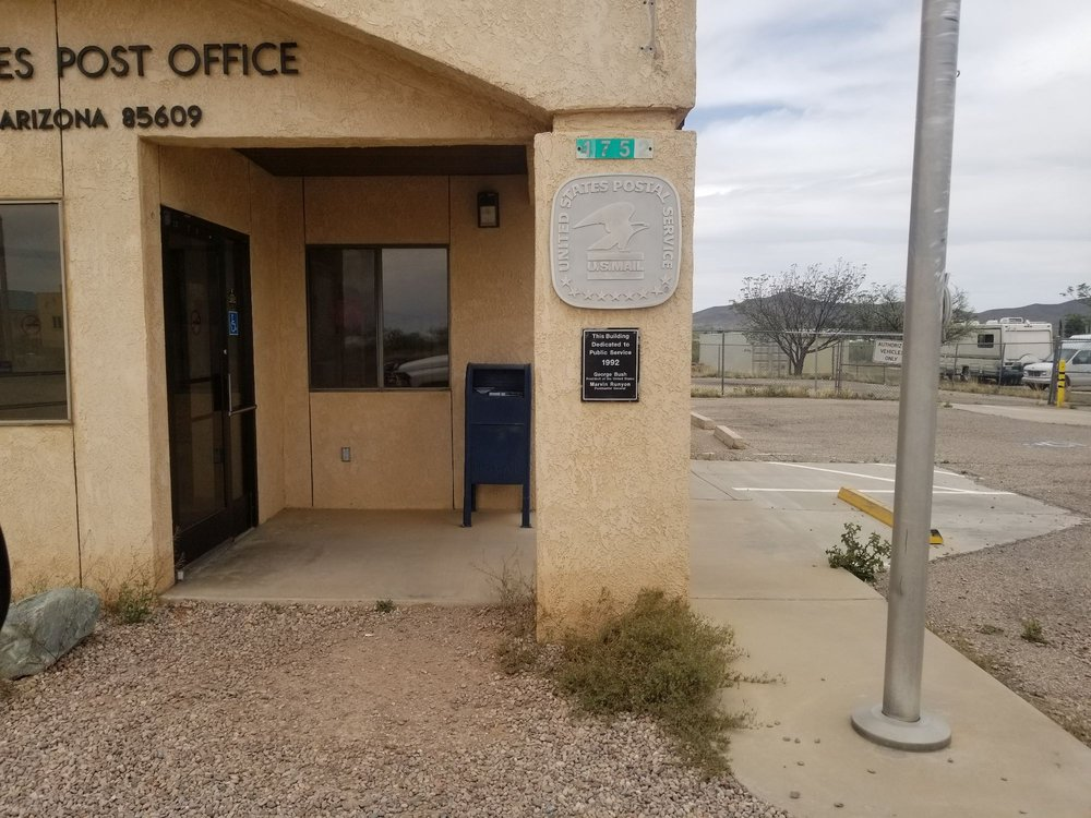 US Post Office: 4752 Dragoon Rd, Dragoon, AZ