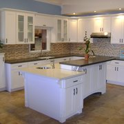 floor tiles and photo of superior home specialists oakland ca united states white shaker cabinet - Kitchen Cabinets Oakland Ca