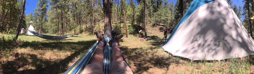 Ferguson Tipi Camping: 32 Sleeping Bear Ln, Mayhill, NM
