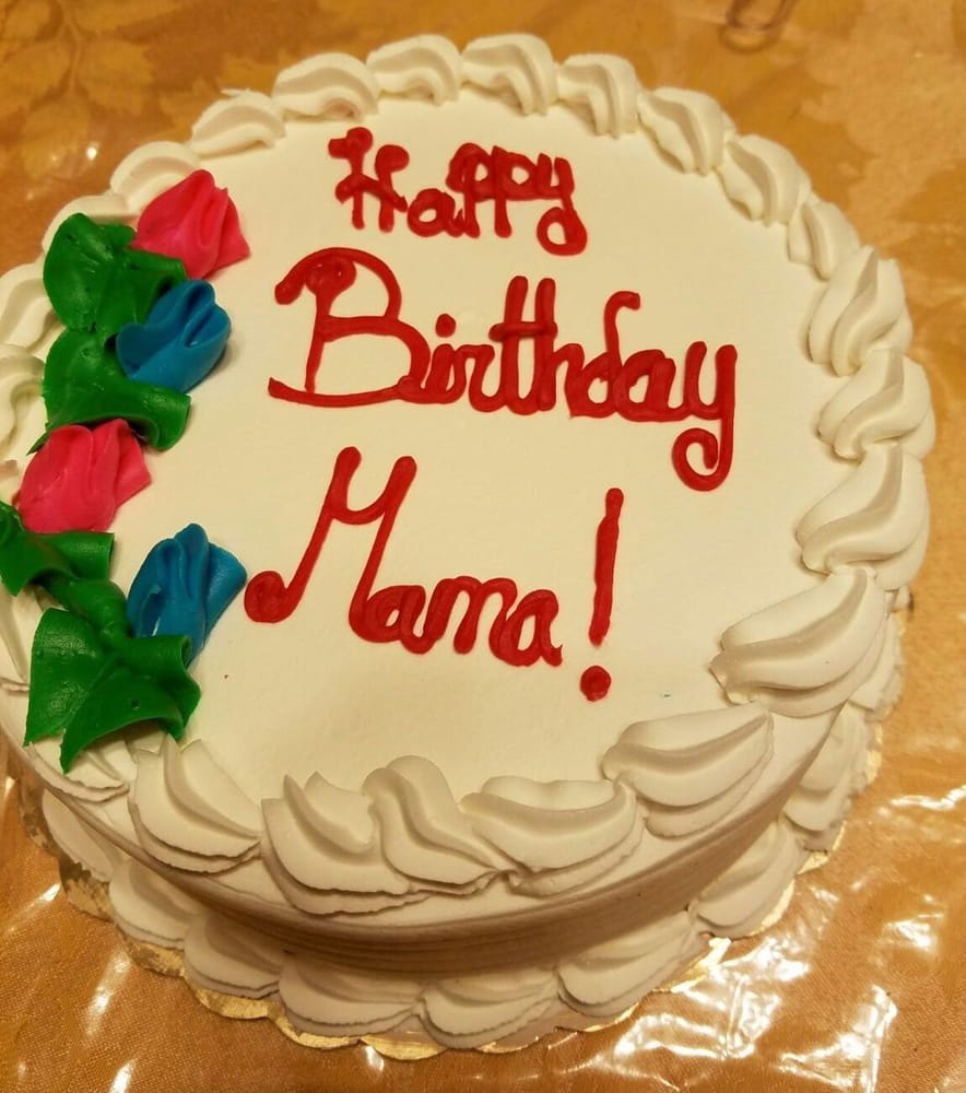Italian Birthday Cake Happy Birthday Mama 83 Years Layered