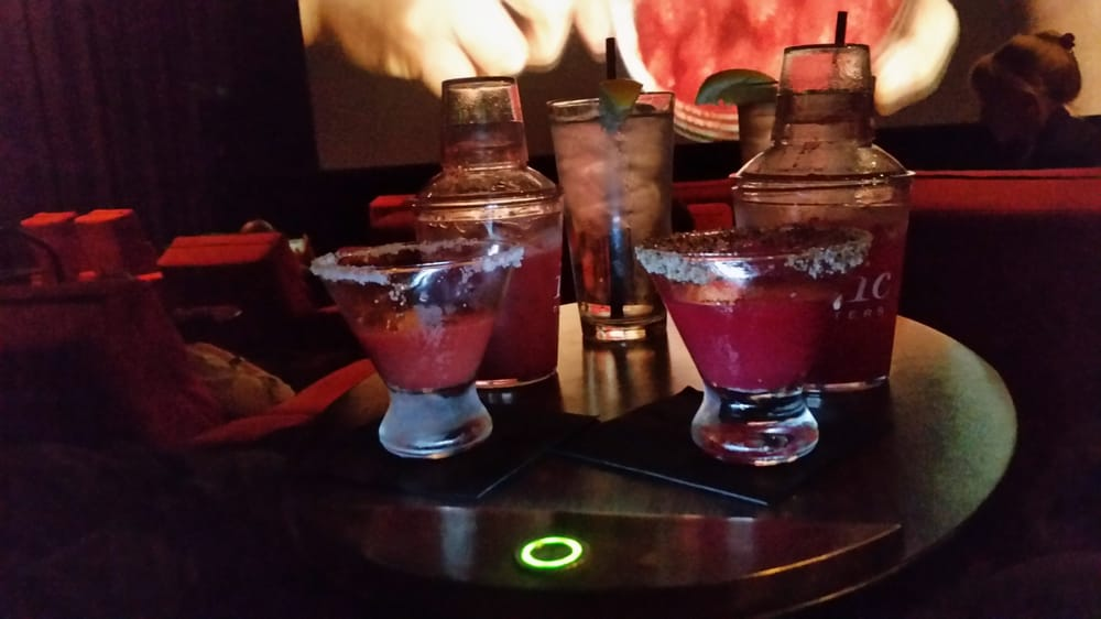 drinks at ipic prickly pear is delicious
